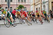 Cyklistický šampionát v Jindřichově Hradci.