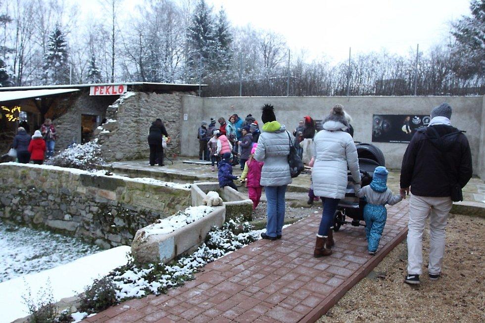 V Zooparku Na Hrádečku v Horní Pěně se to hemžilo čerty.
