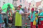 Letošní tradiční setkání vodníků, rusalek a dalších vodních bytostí bylo zahájeno v pátek 14. srpna na Masarykově náměstí v Třeboni.