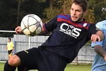 Hradecký záložník Tomáš Šenkýř vstřelil Želči dva góly a vydatně přispěl k hladké výhře svého týmu 4:0.