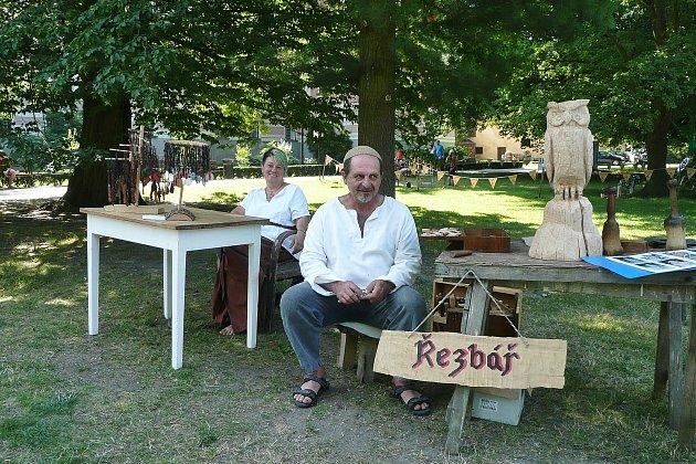 Annu Štěbetákovou ze Strmilova smanželem Janem spojuje originální řemeslná tvorba.