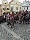 Sobota v Třeboni patřila masopustnímu veselí.