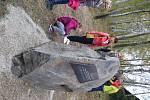 Pomník Jana Nouzy v Lužnici