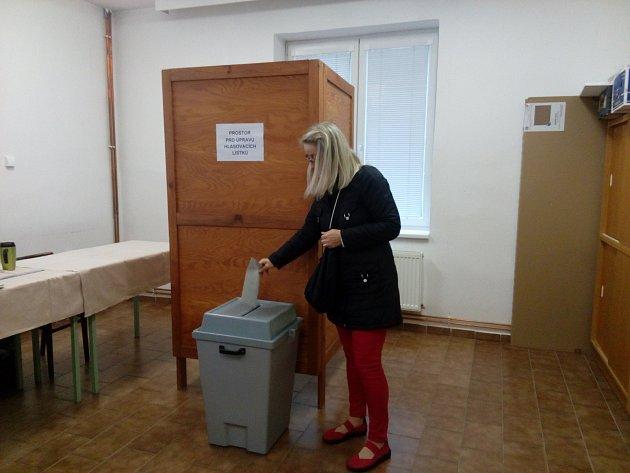 V Třeboni již odhlasovali první lidé v referendu.