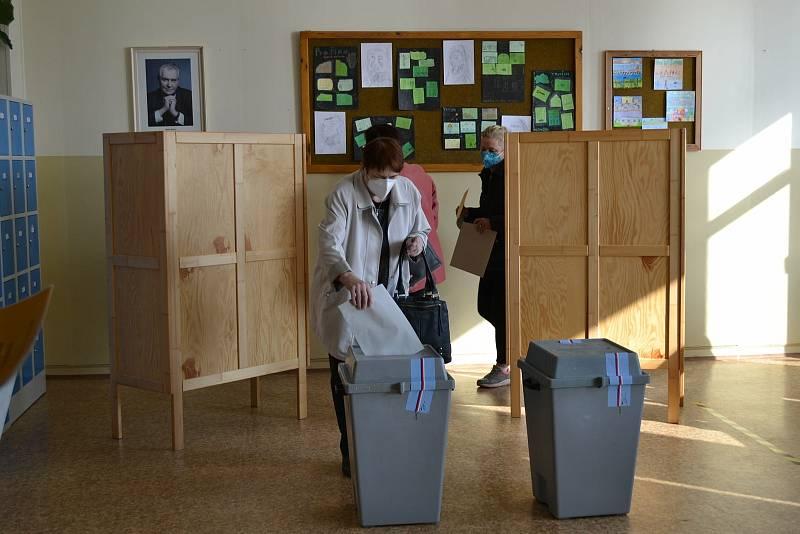 V Jindřichově Hradci také začaly volby do Poslanecké sněmovny. Svůj hlas můžete odevzdat do sobotní 14. hodiny. Foto: archiv města JH