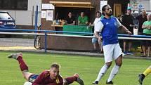 Fotbalisté Třeboně prohráli v Milevsku 1:2.