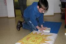 Den otevřených dveří v 6. základní škole v Jindřichově Hradci.