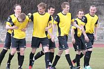 Fotbalisté Dačic byli v minulé sezoně nejlépe střílejícím týmem krajského přeboru.