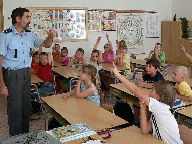 Okresní policejní mluvčí Jaroslav Beran