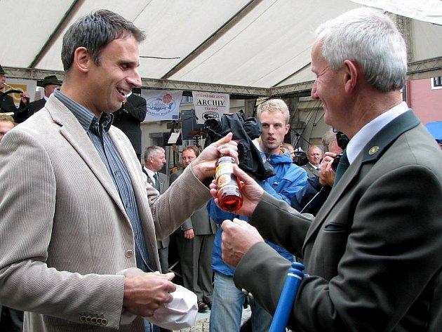 Po celý víkend měli lidé možnost nahlédnout do zákulisí rybářského řemesla, v Třeboni se totiž konaly Rybářské slavnosti.