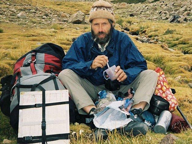 Pohřešovaný třeboňský vědec Leoš Klimeš.