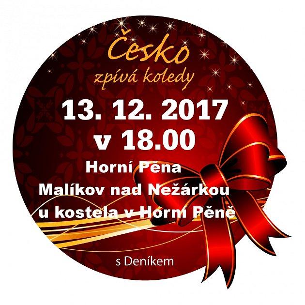 Česko zpívá koledy 2017ina Jindřichohradecku.