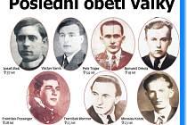 Jihočeši, kteří zemřeli na konci války.
