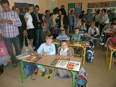 1. B třída v 6. ZŠ v J. Hradci.