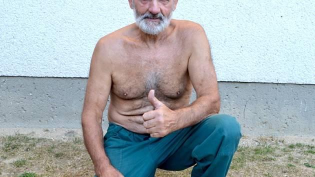 Obří pýchavky našel Josef Novák ze Skrýchova u Studené.