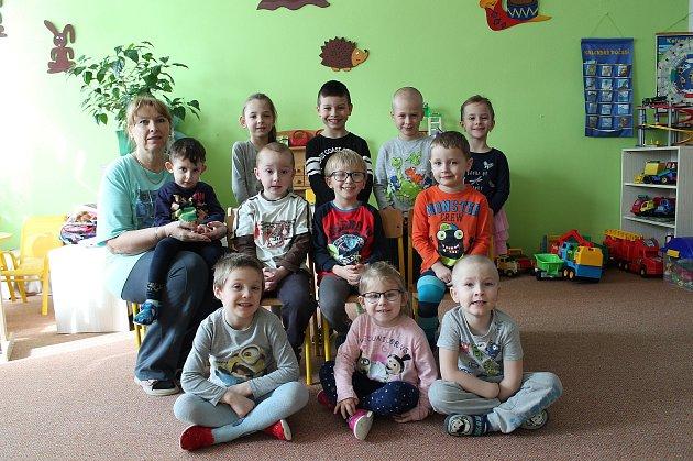 """3. mateřská škola """"UBilly"""" na sídlišti Vajgar vJindřichově Hradci – třída Beruška."""