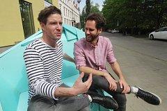 Na Anifilmu potkáte tvůrce, návštěvníky, ale i herce a moderátory Vladimíra Polívku a Pavola Seriše.