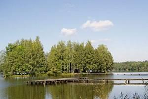 Rybník Hejtman v Chlumu u Třeboně.