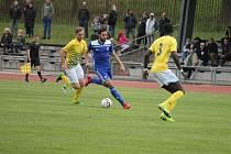 Fotbalisté Soběslavi zvítězili v jihočeském divizním derby na jindřichohradeckém trávníku 4:0.