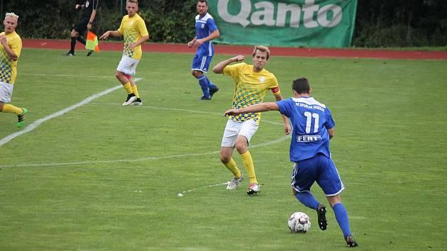 Jindřichohradečtí fotbalisté prohráli v divizním derby se Soběslaví vysoko 1:5.