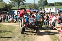 V Kostelní Radouni se konala oblíbená Traktoriáda.