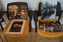Výstava snímků z Podkarpatské Rusi.