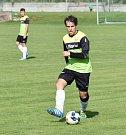 Jindřichohradečtí fotbalisté v 7. kole KP nadělili Oseku na jeho hřišti pět gólů.
