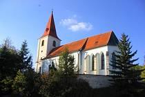 Jarošovský kostel. Ilustrační foto.