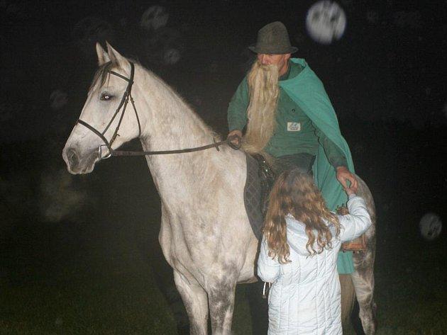 Do Blažejova dorazil svatý Martin na bílém koni.