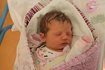 Berenika Chmelová, Jindřichův Hradec.Narodila se 4. srpna mamince Alici Březinovéa tatínkovi Lubomíru Chmelovi. Vážila 3280 gramů.
