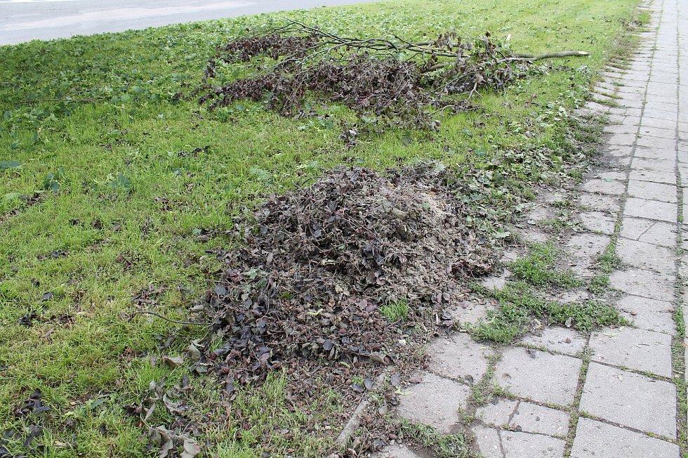 Sobotní kroupy způsobily veliké škody.