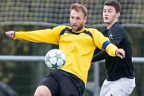 Kapitán fotbalového Jemnicka Zdeněk Koutný působí v klubu už 18 let. Začínal v Dešné, mihl se i v Jindřichově Hradci.