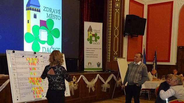 Fórum Zdravého města Dačice. Ilustrační foto.