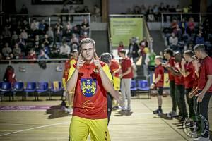 Lukáš Stegbauer zaznamenal v duelu proti Sokolu pražskému úctyhodných devět trojek a celkem 29 bodů.