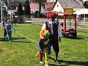 Ve Starém Městě pod Landštejnem si děti užily karnevalové soutěžní odpoledne.