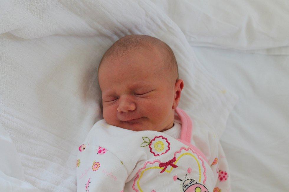 Nina Brabcová, Jindřichův Hradec.Narodila se 9. dubna Karolíně Nožínové a Zdeňku Brabcovi, vážila 3 420 gramů a měřila 50 centimetrů.