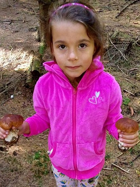 Na houby se včera vypravila i Melanie Kubů z Jindřichova Hradce a s prázdnou se z lesa rozhodně nevracela.
