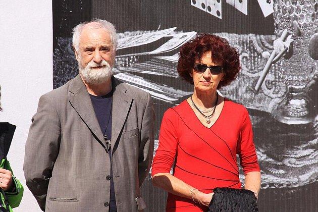 Vernisáž výstavy Via Lucis 1989 – 2009 v J. Hradci.