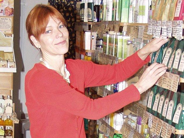 Bylinkářka Zuzana Kořínková.