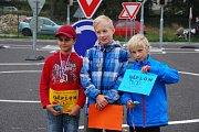 Dopravní olympiáda v Základní a mateřské škole ve Studené.