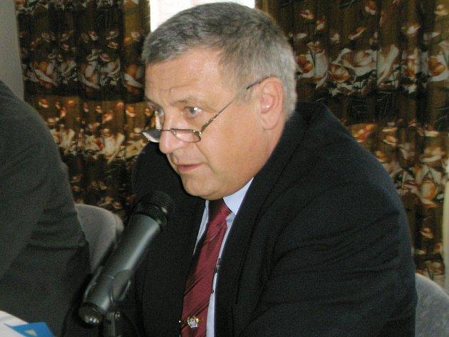 Bývalý vedoucí jindřichohradeckého územního odboru kriminální policie a vyšetřování Pavel Prýgl.