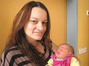 Vanesa Hrůzová z Jindřichova Hradce se narodila 15. listopadu 2013 Petře Hrůzové a Vítu Hurychovi. Vážila 3900 gramů a měřila 53 centimetrů.