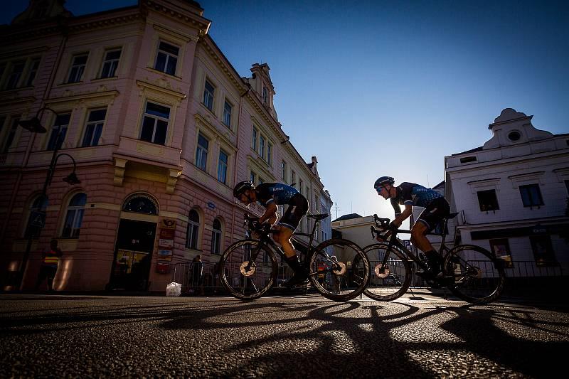 Závod Okolo jižních Čech zavedl cyklisty do řady míst regionu.
