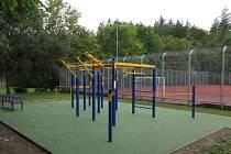První workoutové hřiště vzniklo v roce 2018 poblíž klece pod jindřichohradeckým gymnáziem.