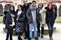 Jindřichův Hradec - Studenti z Argentiny, Alžírska, Brazílie, Indonésie, Číny a Vietnamu navštívili Střední zdravotnickou školu v Jindřichově Hradci.
