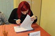 Volební okrsek v Klenově, který má 147 voličů, spadá pod Pluhův Žďár.