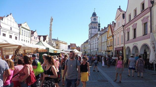 Lázeňská Třeboň: Tejpování, oplatky, trhy