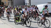Cyklotour Na kole dětem. Ilustrační foto.