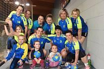 B-tým žen jindřichohradecké Házené se opět po roce raduje z titulu přeborníka Jihočeského kraje.