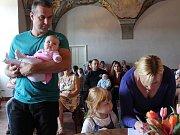 V Jindřichově Hradci se konalo vítání nově narozených dětí.